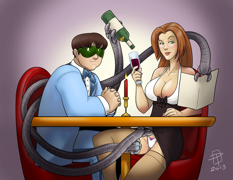 verse female spider doctor octopus Tits trials in tainted space